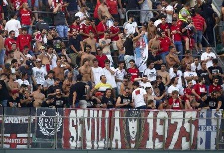 İspaniyada oyun zamanı stadion uçdu