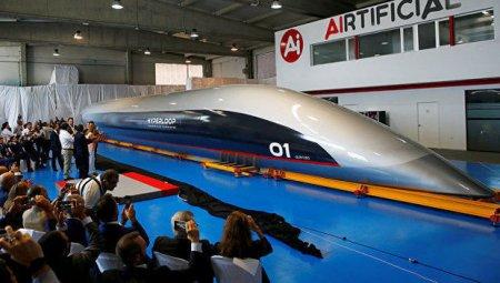 Sürəti 1200 km/saat olan qatarın prototipi təqdim olundu