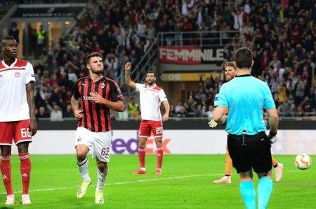 """""""Milan""""dan inamlı qələbə, """"Beşiktaş""""dan üzücü məğlubiyyət"""