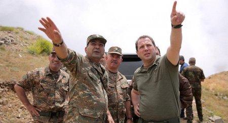 Ermənistan müdafiə naziri Qarabağa gəlib əmr verdi