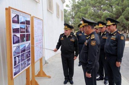 Zakir Həsənov Hərbi Baytarlıq Laboratoriyasının açılışında