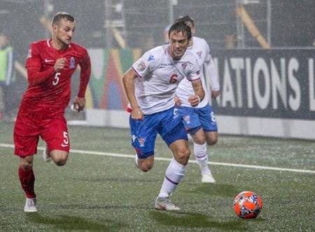 Azərbaycan millisi səfərdə Farer adalarına 3:0 hesabı ilə qalib gəldi