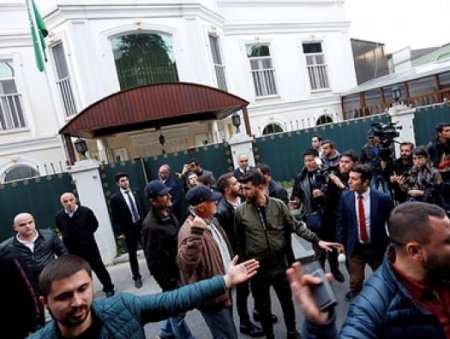 Konsulluqda öldürülən jurnalistin cəsədi itirilib