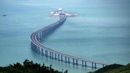 Dünyanın dəniz üzərində ən uzun körpüsü istifadəyə verilib