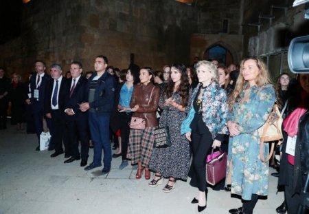 """Leyla Əliyeva """"Şirvanşahlar irsi dünya muzeylərində"""" sərgisinin açılışında iştirak edib"""