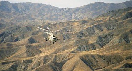 Əfqanıstanda hərbi helikopter qəzaya uğradı