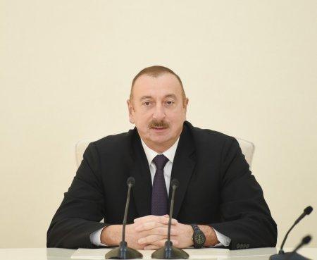 """İlham Əliyev: """"Bütün vasitələrdən istifadə edib öz ərazi bütövlüyümüzü bərpa edəcəyik"""""""