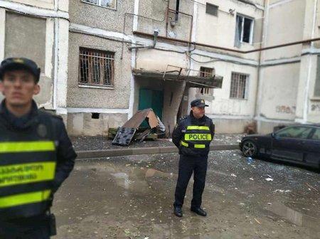 Tbilisidə yaşayış binasında güclü partlayış