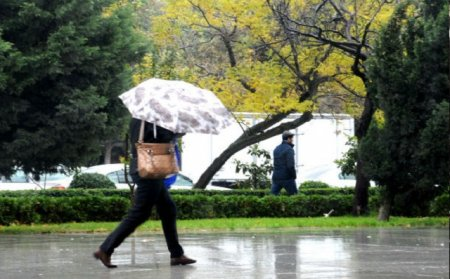 Sabah qısamüddətli yağış yağacaq