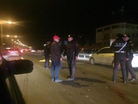 Bakı-Sumqayıt yolunda maşın piyadanı vurub öldürdü