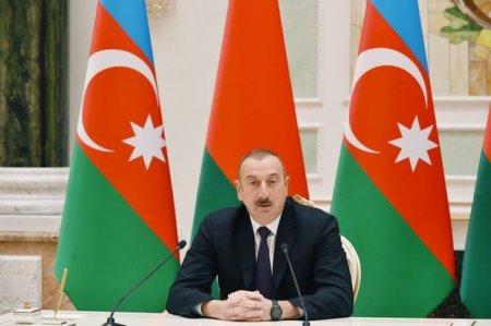 İlham Əliyev: Azərbaycan üçün Belarus mehriban dost və etibarlı tərəfdaşdır
