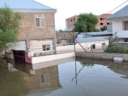 Bakının bəzi ərazilərində qrunt sularının səviyyəsi qalxıb