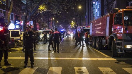 Türkiyə paytaxtında güclü partlayış: 7 yaralı