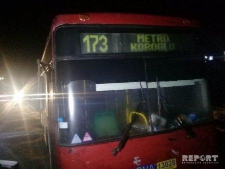 Bakıda avtobus daha bir xadimə qadını vurub öldürdü