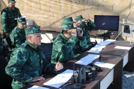 Ermənistan müdafiə nazirinin müavini Azərbaycanın sərhəd qoşunlarını təmas xəttinə yeritməsi haqda