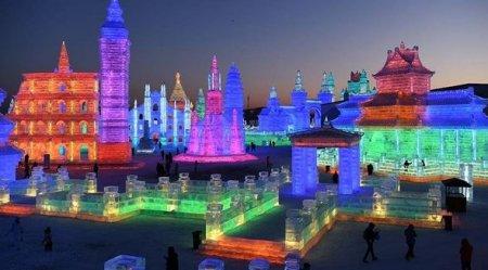 Çində buz şəhəri