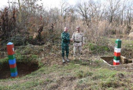 Biləsuvarda generallar Elçin Quliyev və Qasım Rezayi arasında danışıqlar
