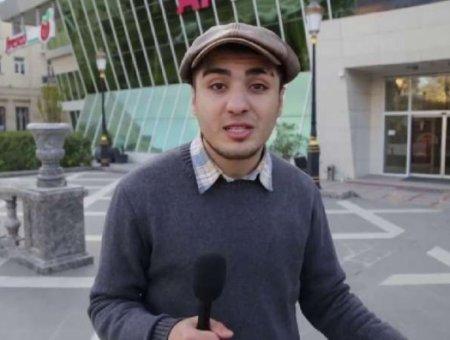Mehman Hüseynov ictimaiyyətə müraciət etdi