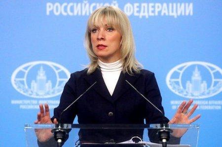 Zaxarova rus deputatların Xocalı yürüşündə iştirakından danışdı