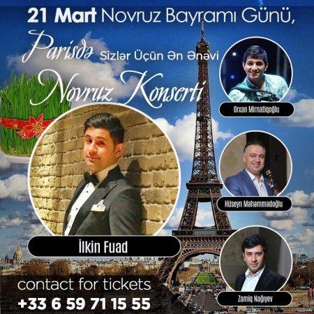 Sənətçilərimiz Parisdə konsertə hazırlaşır