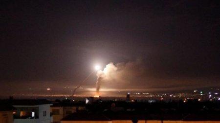 İsrail Hələbi bombaladı