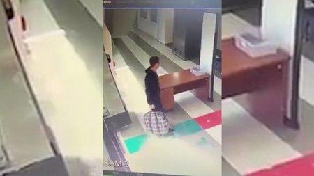 Ermənistanda gömrükdəki məşhur videonu çəkən şəxs işdən qovuldu
