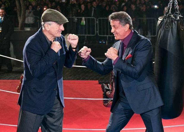 Stallone rinqdə De Niroya qarşı
