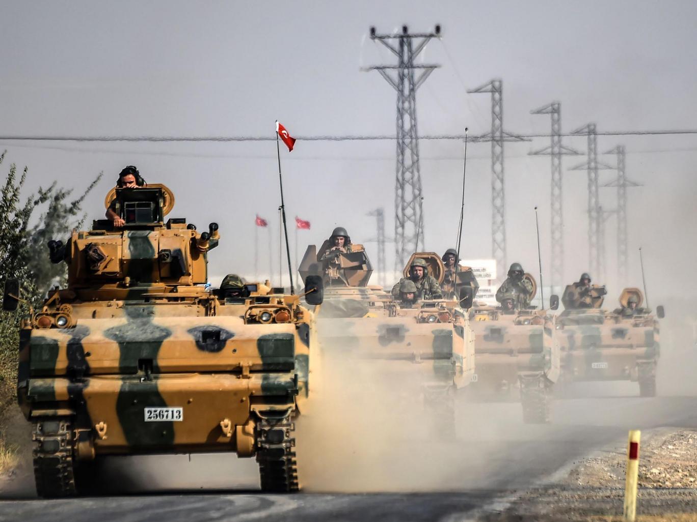 Türkiyə Suriyada yeni müharibəyə hazırlaşır
