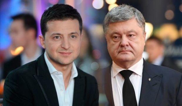 Poroşenko debatlara Zelenski olmadan başladı